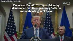 Trump Condemns 'White Supremacy' [Video]