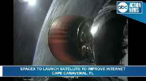 SpaceX launches satellite from Cape Canaveral to increase internet connectivity to Africa [Video]