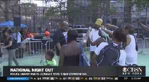 Mayor, NYPD Join National Night Out [Video]
