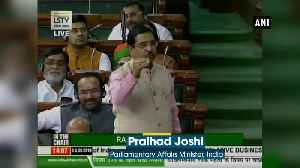 News video: Article 370 scrapped Congress is speaking in the voice of Pakistan says Pralhad Joshi