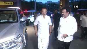 DMK President MK Stalin meets CM Mamata Banerjee in Chennai [Video]