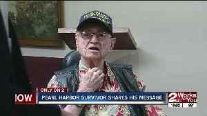 Pearl Harbor survivor shares his message [Video]