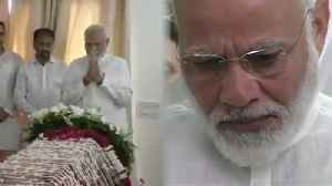 News video: RIP Sushma Swaraj: PM Modi pays last respect to ex-external affairs minister