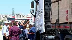 News video: West Bank activists urge cutting economic ties with Israel