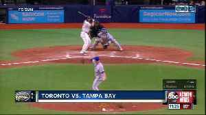 Tampa Bay Rays erase 6-run deficit, beat Toronto Blue Jays on wild pitch in 10th inning [Video]