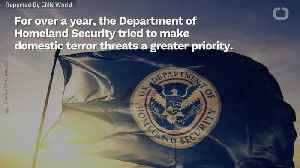 News video: The DHS Tried To Sound The Alarm On Domestic Terrorism. The White House Didn't Listen