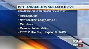 Naples Greater Fire Rescue holds annual sneaker drive [Video]