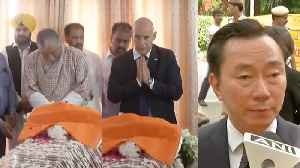 News video: Foreign dignitaries pay tribute to Sushma Swaraj
