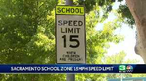 Slow down! Sacramento schools adapting to new speed limits [Video]