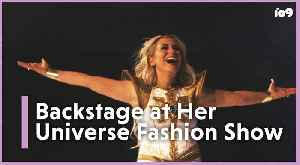 Backstage With Ashley Eckstein At Her Universe's SDCC Fashion Show [Video]