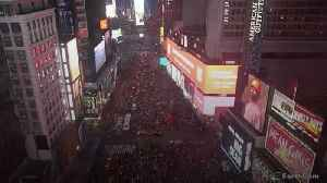 Motorcycle backfiring causes panic in Times Square [Video]