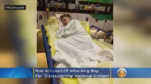 Man Accused Of Attacking Boy For 'Disrespecting' National Anthem [Video]
