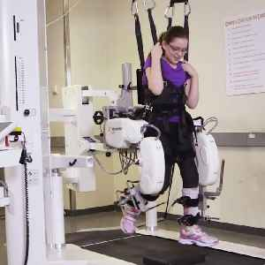 Robot-assisted therapy helps kids with their mobility [Video]