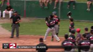 Trail Blazers fall to Mohawks in Game 1 of the PGCBL Championship Series [Video]