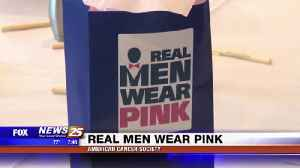Real Men Wear Pink to Kickoff Campaign [Video]