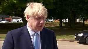 Boris Johnson on Leyton police stabbing [Video]