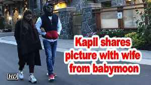 News video: Kapil Sharma shares picture with wife from babymoon