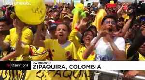 Tour de France winner Bernal gets hero's welcome in Colombian hometown [Video]