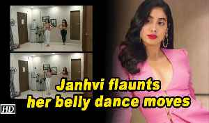Janhvi Kapoor flaunts her belly dance moves [Video]
