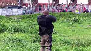 Cape Town law enforcement officers fire upon protesters as the city is in lockdown [Video]