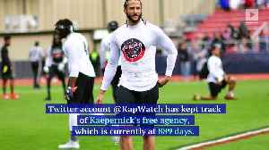 Colin Kaepernick Says He's 'Still Ready' for an NFL Comeback [Video]