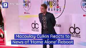 Macaulay Culkin Reacts to News of 'Home Alone' Reboot [Video]