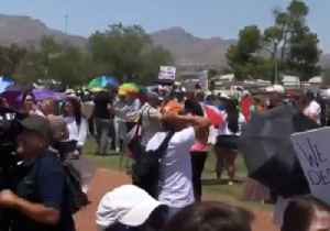 Protesters Gather in El Paso as Trump Pays Visit in Aftermath of Shooting [Video]