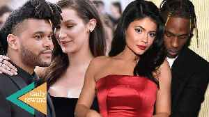 Kylie Jenner Gets On Private Jet With A WEDDING DRESS! Bella Hadid & The Weeknd SPLIT!   DR [Video]