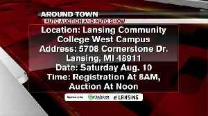 Around Town -  Auto Auction and Show at Lansing Community College - 8/8/19 [Video]