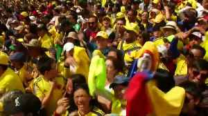 Hero's welcome for Colombia's Tour de France winner [Video]