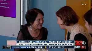 Civil Rights activist Dolores Huerta calls out Congressman Kevin McCarthy over mass shooting response [Video]