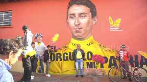 News video: Tour de France champion Bernal given hero's welcome in home town
