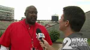 1-on-1 with new Terps football coach Mike Locksley [Video]