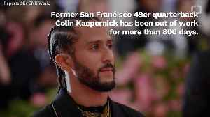 Colin Kaepernick Is Ready To Play Football [Video]