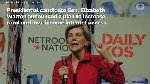 Elizabeth Warren Wants To Make The Internet A Public Utility [Video]