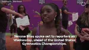 Simone Biles Says USA Gymnastics Failed To 'Protect Us' [Video]