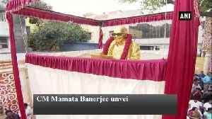 CM Mamata Banerjee unveils M Karunanidhi's statue on his first death anniversary [Video]