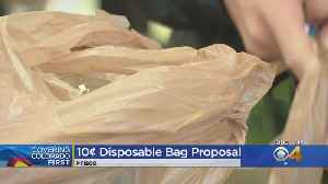 Frisco Considering Fee For Plastic Bags [Video]