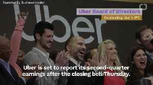 Uber Is Set To Announce Losses As It Reports Second Quarter Performance [Video]
