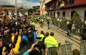 Tour de France winner Bernal gets hero's welcome in hometown [Video]