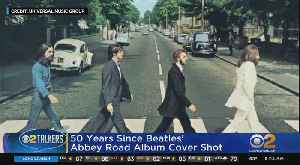 News video: 50 Years Since 'Abbey Road' Cover Shoot