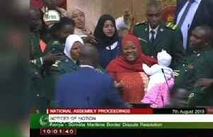 Kenyan MP kicked out of parliament for bringing her baby [Video]