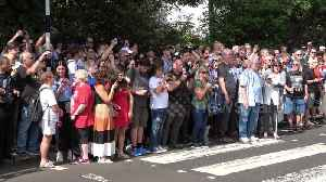 News video: Fans from afar as the US and New Zealand mark anniversary of Beatles' Abbey Road photo