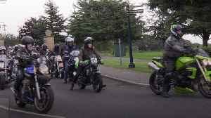 Motorbikes join cortege at funeral of boys killed in Sheffield [Video]