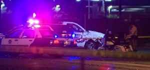 Las Vegas police shoot man who rams cars [Video]