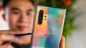 News video: Hands-on with Galaxy Note 10