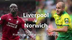News video: Liverpool v Norwich: Premier League match preview