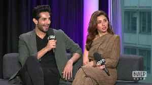Pakistani Film Megastars Mahira Khan and Bilal Ashraf Join BUILD [Video]