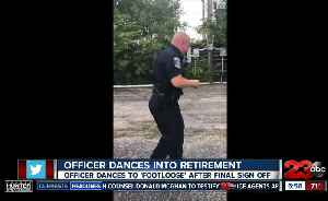 Illinois officer retires in style [Video]