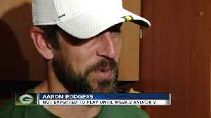 Aaron Rodgers not expected to play in first preseason game tonight [Video]